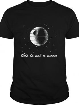 This Is Not A Moon Space shirt