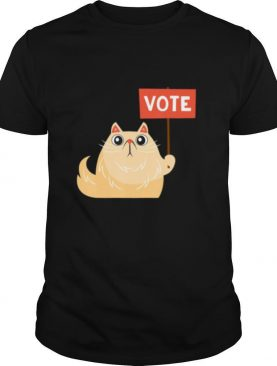 Vote 2020 Elections Day – Cute Kawaii Kitty Cat Lovers shirt