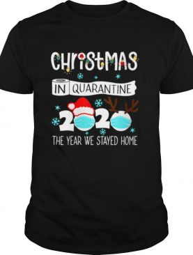Christmas In Quarantine 2020 Pajamas shirt