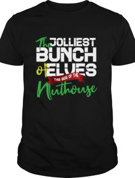 Christmas Quotes Jolliest Bunch Of A Holes Ugly Christmas Gift shirt