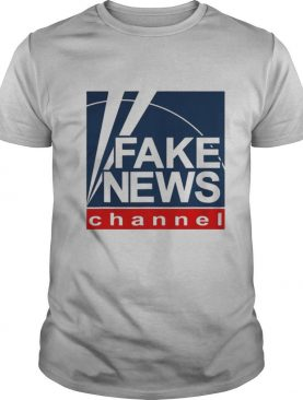 Fake new channel funny vote shirt