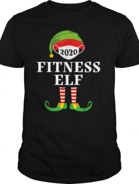 Fitness Elf Matching Christmas Group Party Pjs Family 2020 shirt
