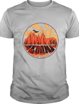 Georgia Vintage Sunset Outdoors Hiking Souvenir shirt