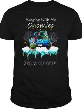Hanging With My Gnomies Merry Christmas shirt
