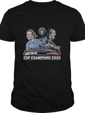Lavelle Mewis Man City 2020 Cup Champions shirt