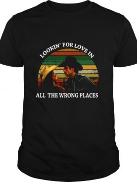 Looking For Love In All The Wrong Places Music Top Vintage T shirt