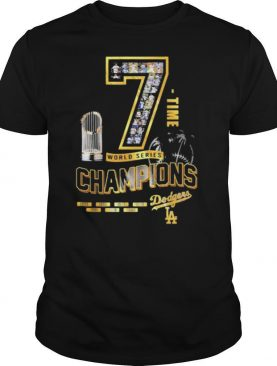 Los Angeles Dodgers 7 Time World Series Champions 1955 2020 shirt