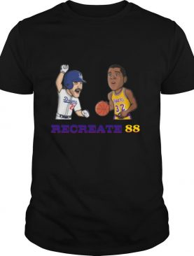 Los Angeles Dodgers And Lakers Recreate 88 shirt