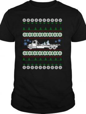 Proud Tow Truck Operator Ugly Christmas shirt