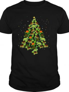 Turtles Tree Merry Christmas shirt