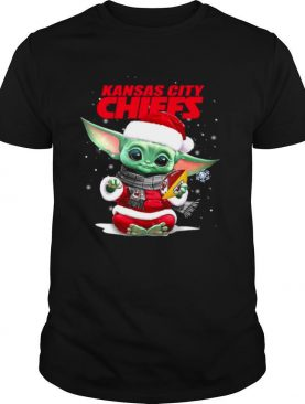Baby Yoda Kansas City Chiefs Football Christmas shirt