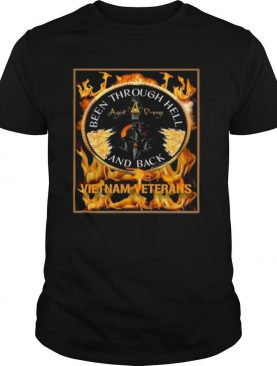 Been Through Hell Agent Orange And Back Vietnam Veterans shirt