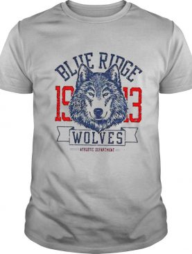 Blue Ridge 1913 Wolves Athletic Department shirt