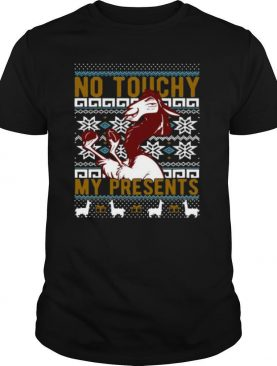 Emperor's New Groove Kuzco No Touchy Ugly Christmas shirt