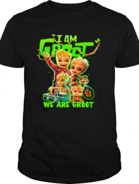 I Am Groot We Are Groot shirt