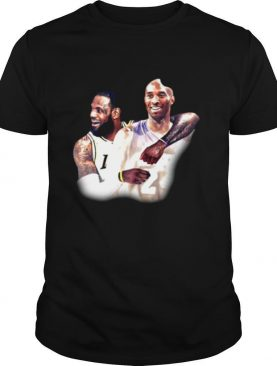 Lebron James And Kobe Bryant Los Angeles Lakers Nba shirt