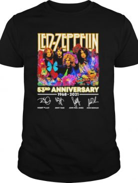 Led Zeppelin 53rd Anniversary 1968 2021 Signature shirt