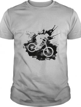 Riding Downhill Over Splash for Cyclists shirt