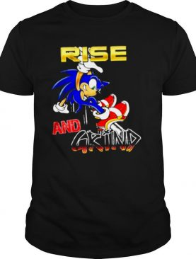 Rise And Grind Sonic Version shirt