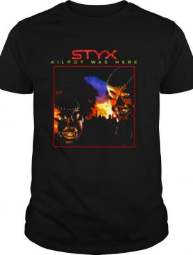 Styx Kilroy Was Here Pieces Of Eight shirt