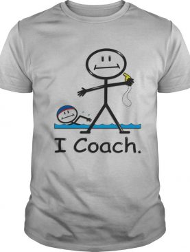 Swimming I Coach shirt