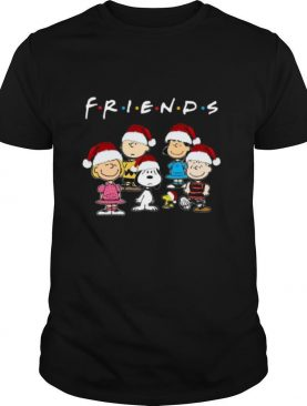 The Peanuts Snoopy and Friends Christmas shirt