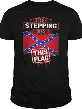 Try Stepping On United Kingdom Flag shirt