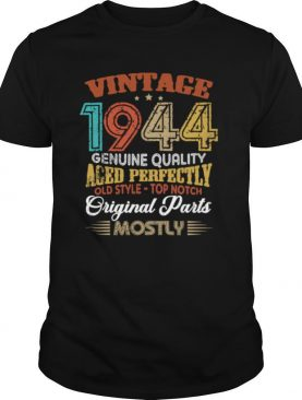 Vintage 1944 Genuine Quality Aged Perfectly Original Parts Mostly 76th shirt