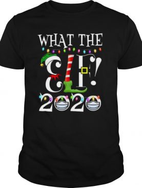 WHAT THE ELF 2020 Christmas Elf Matching Family Pajama shirt