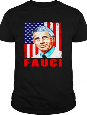 We trust in science Fauci vintage American flag shirt