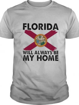 florida will always be my home logo shirt