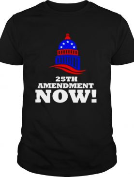 25th Amendment Now Remove Trump from Office 2021 shirt