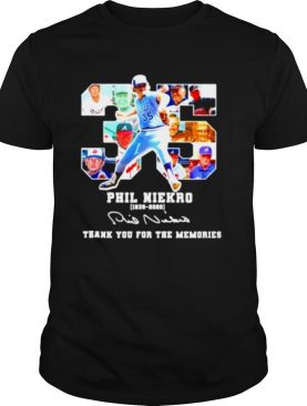 35 Phil Niekro 1939 2020 thank you for the memories shirt