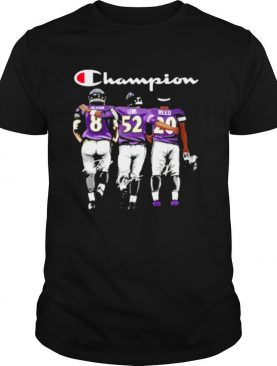 Baltimore ravens jackson lewis reed champion signatures shirt