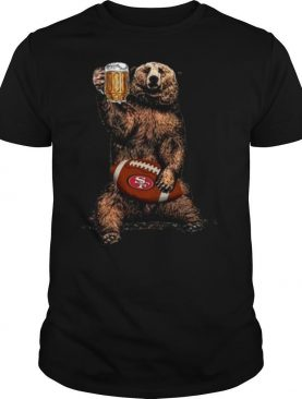 Bear Hug San Francisco 49ers Football Drink Beer shirt