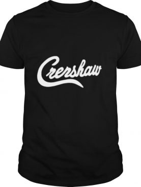 Crenshaw the marathon clothing shirt