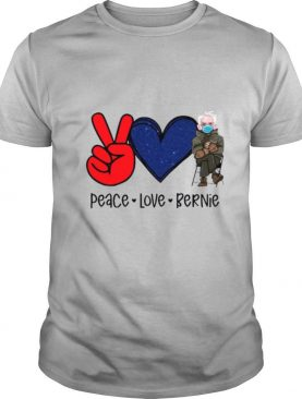 Diamond Peace Love And Bernie Sanders 2021 shirt