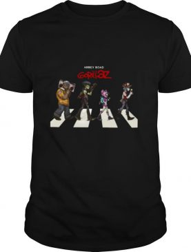 Gorillaz Abbey Road shirt