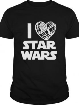 I Love Star Wars shirt