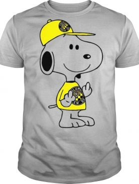 Snoopy Columbus Crew SC MLS Double Middle Fingers Fck You shirt