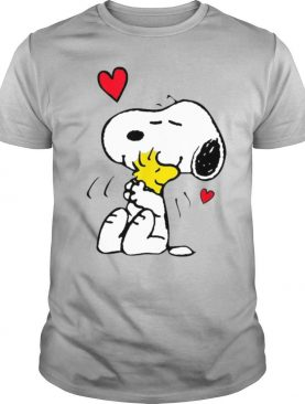 Snoopy Hug Woodstock Valentines Day Shirt