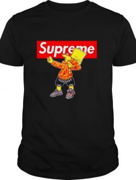 Supreme Simpson Dabbing shirt