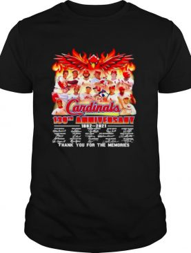 139 years of Cardinals 1882 2021 thank you for the memories shirt