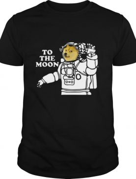 Dogecoin To The Moon Cool 2021 shirt
