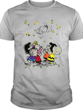 The Snoopy Woodstock And Friends Playing In Vacation 2021 shirt