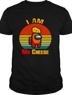 Among Us Impostor I Am Mr Cheese Vintage shirt