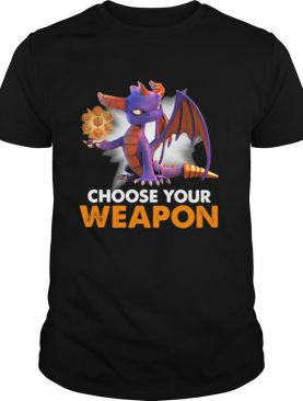 Choose your weapon toothless shirt