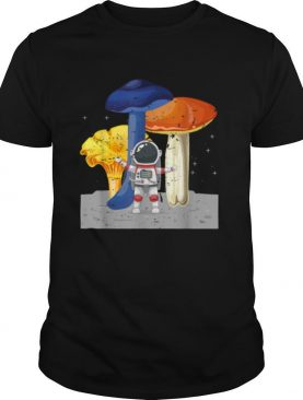 Cool Space Astronaut Psychedelic Magic Mushroom shirt