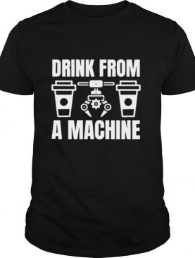 Drink From A Machine Crossword shirt