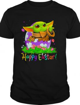 Happy Easter Day Egg Baby Yoda Shirt